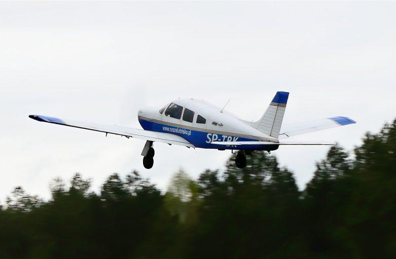 Uczniowie klasy 1 TA o CSL Technikum Lotnicze w Nagoszewie